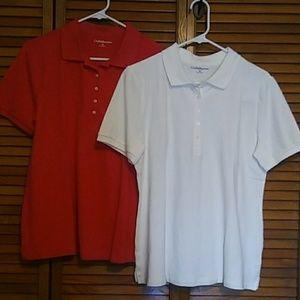 2 shirt bundle. Croft&Barrow pull over shirts